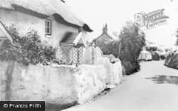Oxwich, The Village c.1965