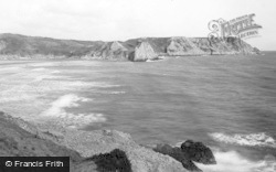 Oxwich, Three Cliffs Bay 1893