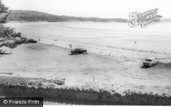 Oxwich, View Of The Bay From Hotel c.1965