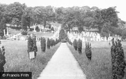 Oystermouth, Cemetery 1899