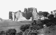 Oystermouth, the Castle 1893