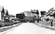Oystermouth, the Castle c1960