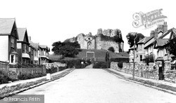 Oystermouth, The Castle c.1960