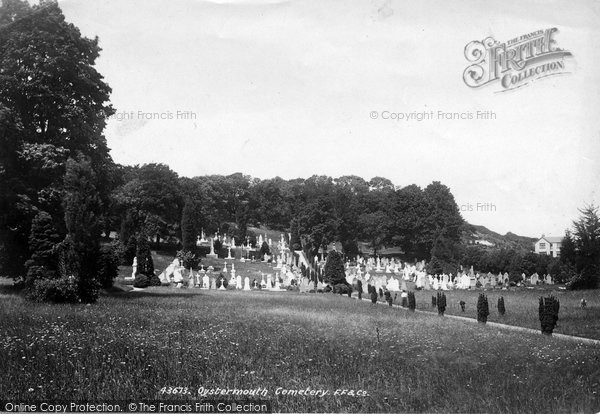 Oystermouth, the Cemetery 1899