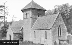 Church c.1950, Ozleworth