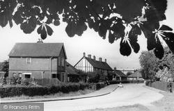 Paddock Wood, Church Road c.1955