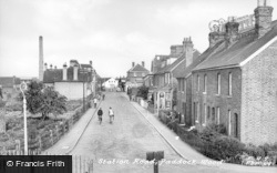 Paddock Wood, Station Road c.1955