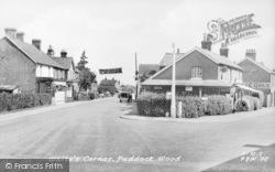Paddock Wood, Whites Corner c.1955