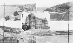Padstow, Composite, Greetings From Padstow c.1955