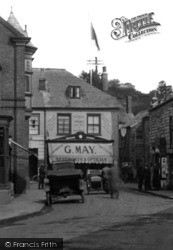 Padstow, G. May, Silversmith & Optician 1923