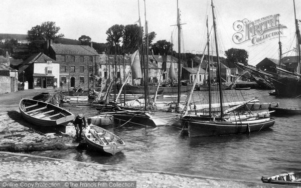 Photo of Padstow, Harbour 1901, ref. 47714