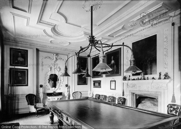 Photo of Padstow, Prideaux Place, The Billiard Room 1888