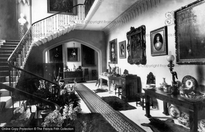 Photo of Padstow, Prideaux Place, The Hall 1888