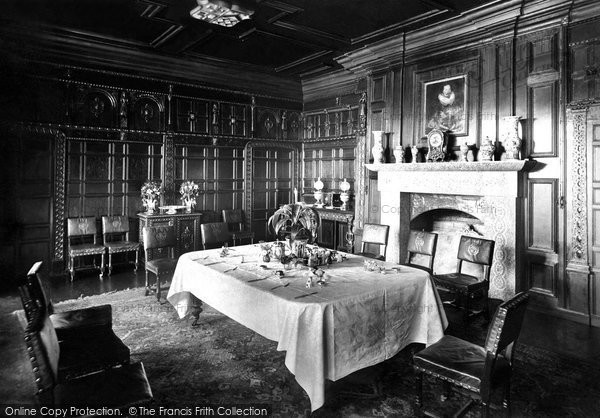 Photo of Padstow, Prideaux Place, The Oak Room 1888