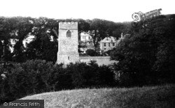 Padstow, St Petroc's Church And Prideaux House 1888