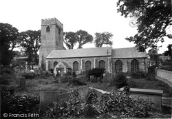 Padstow, St Petroc's Church, From The South 1888