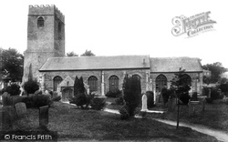 Padstow, St Petroc's Church From The West 1901