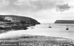 Padstow, The Coastguard Station 1901
