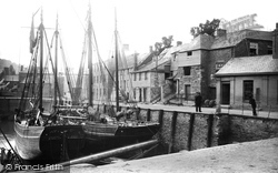 Padstow, The Harbour 1888