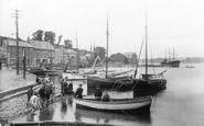 Padstow, the Quay 1910