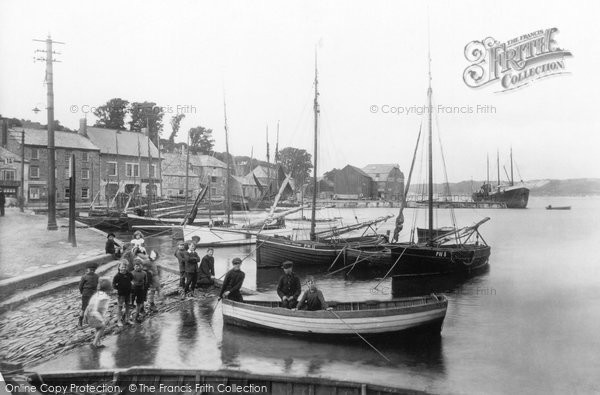 Photo of Padstow, the Quay 1910