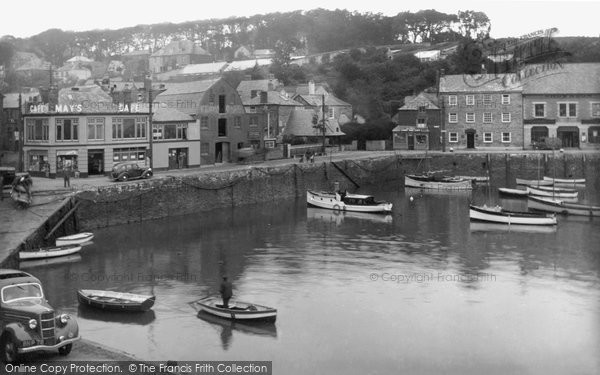 Photo of Padstow, the Quay 1938