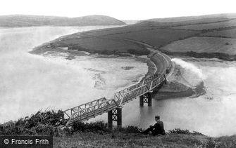 Padstow, the Railway Bridge 1906