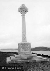 Padstow, the War Memorial 1923