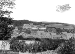Padstow, View Of The Town 1894