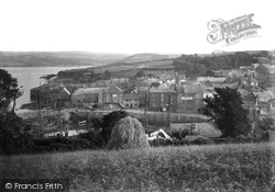 Padstow, View Over The Harbour c.1900