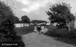 Pagham, Lagoon Field, Church Farm c.1955
