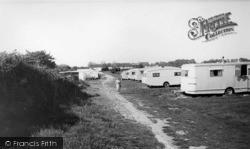 Pagham, Lagoon Strip, Church Farm c.1955