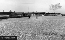 Pagham, The Bungalows c.1955