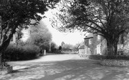 Pagham, the Entrance to Church Farm c1965
