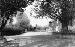 Pagham, The Entrance To Church Farm c.1965
