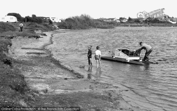 Photo of Pagham, the Lagoon c1955