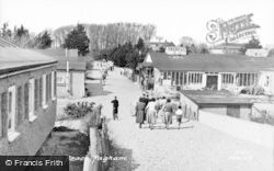 Pagham, View From The Beach c.1955