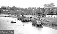 Paignton, Bathing Beach 1896