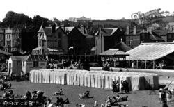 Paignton, Bathing Tents 1928