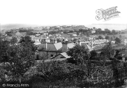 Central Paignton And A Distant Berry Head 1894, Paignton