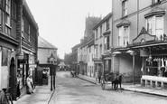 Paignton, Church Street 1912