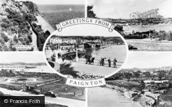 Paignton, Composite c.1955