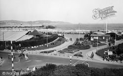 Paignton, Gardens And Seafront 1933
