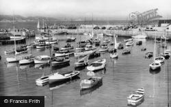 Paignton, Harbour c.1955