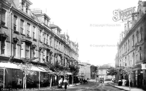 Photo of Paignton, Palace Avenue 1896