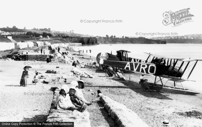Paignton, Preston Sands 1918