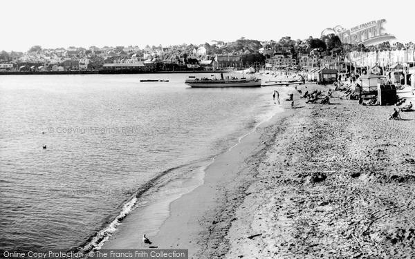 Photo of Paignton, Sands c1965