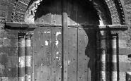 Paignton, St John's Church, Norman Door 1890