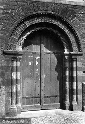 St John's Church, Norman Door 1890, Paignton