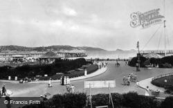 The Esplanade And Pier c.1920, Paignton